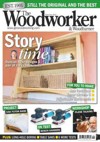 The Woodworker Magazine issue November 2012