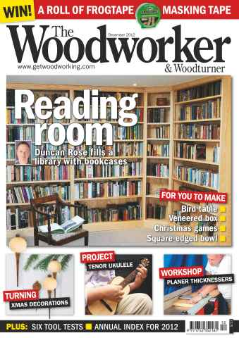 The Woodworker Magazine issue December 2012