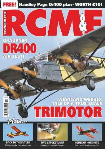 RCM&E issue November 2012