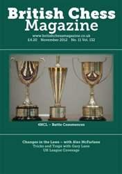 British Chess Magazine issue November 2012