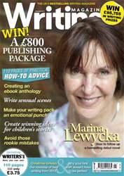 Writing Magazine issue Writing Magazine January 2013