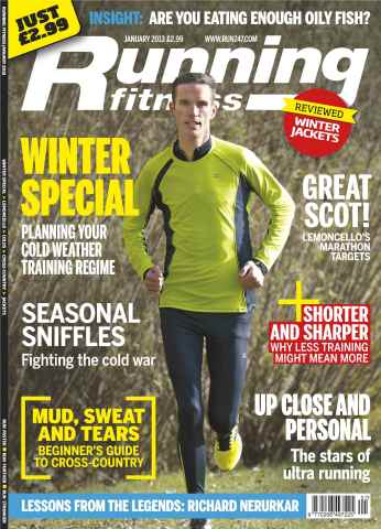 Running Fitness issue Cold Weather Training Jan 2013