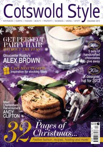 Cotswold Style issue Cotswold Style December 2012