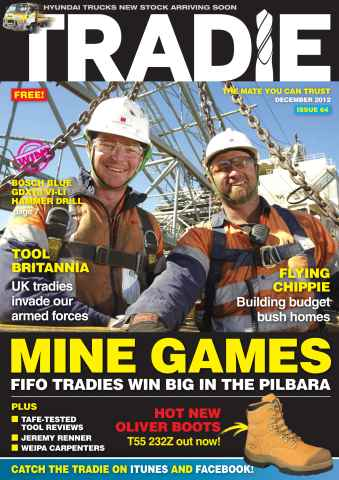 Tradie issue Tradie December 2012