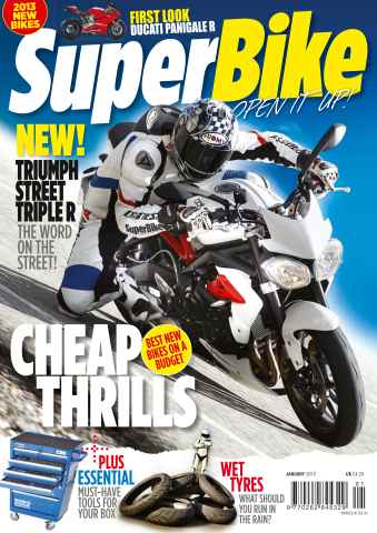 Superbike Magazine issue January 2013
