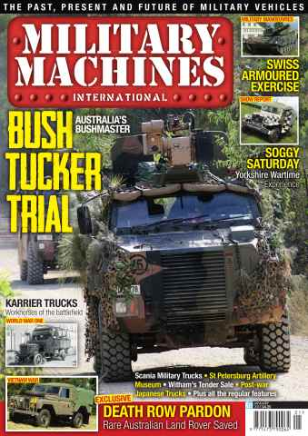 Military Machines International issue January 2013