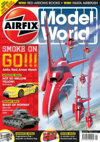 Airfix Model World issue January 2013