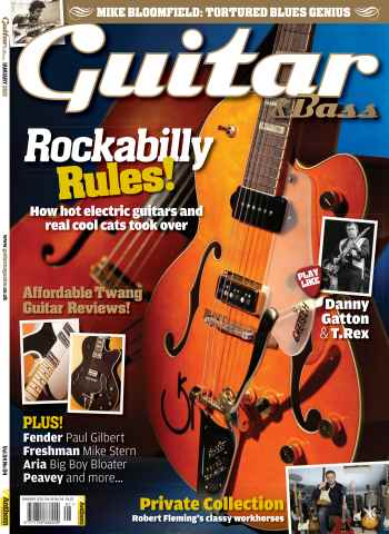 Guitar & Bass Magazine issue January 2013 Rockabilly Rules