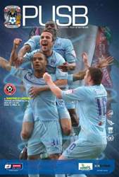 CCFC Official Programmes issue 15 v SHEFFIELD UNITED (12-13)