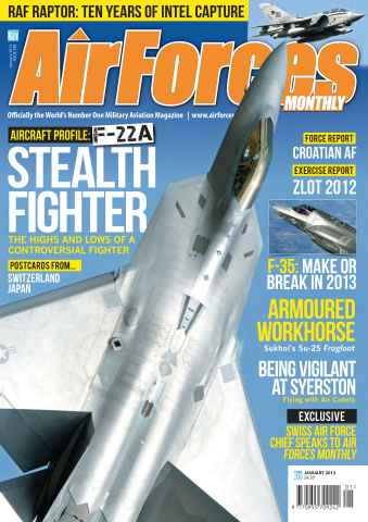 AirForces Monthly issue January 2013