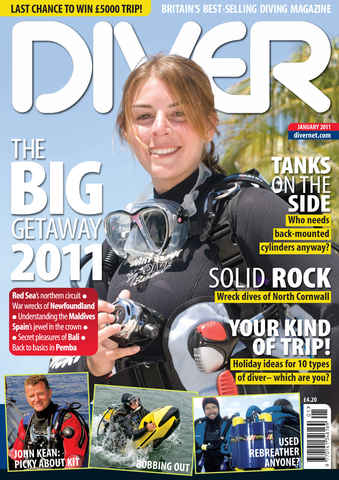 DIVER issue January 2011
