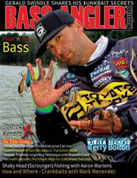 BASS ANGLER MAGAZINE issue January to March 2013