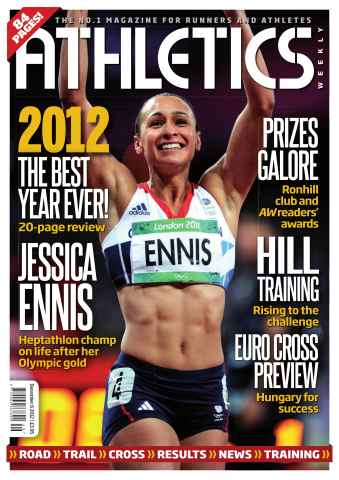 Athletics Weekly issue AW December 6 2012