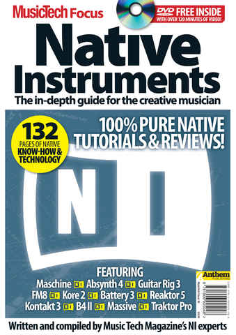 MTF  Native Instruments issue MusicTech Native Instruments
