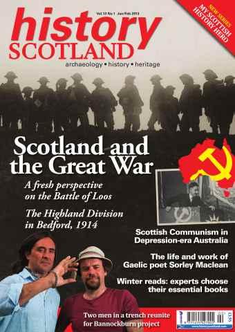 History Scotland issue History Scotland Jan-Feb 2013