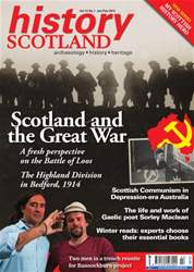 History Scotland issue History Scotland Jan-Feb 2013
