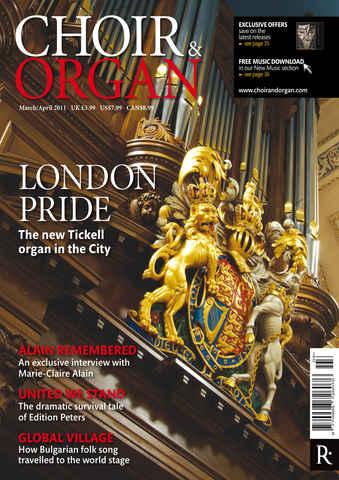 Choir & Organ issue Mar-Apr 2011