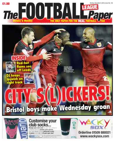 The Football League Paper issue 9th December 2012