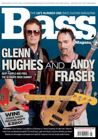 Bass Guitar issue 86 January 2013