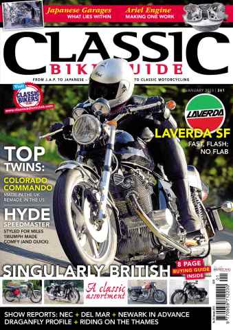 Classic Bike Guide issue January 2013