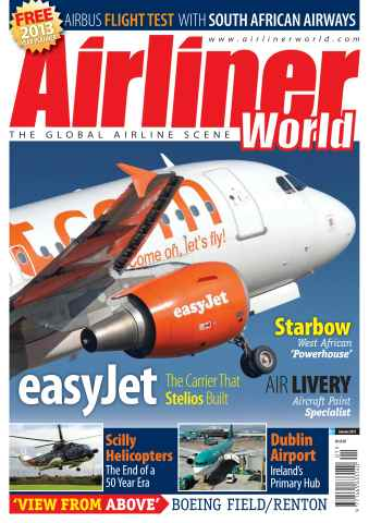 Airliner World issue January 2013