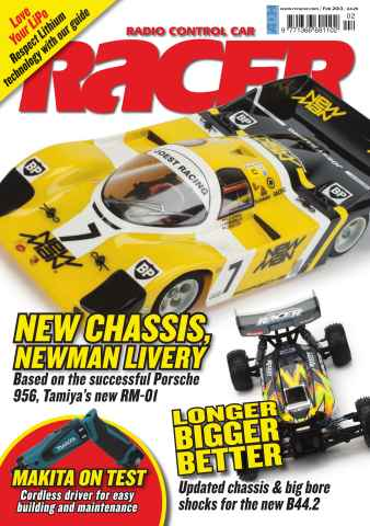 Radio Control Car Racer issue February 2013