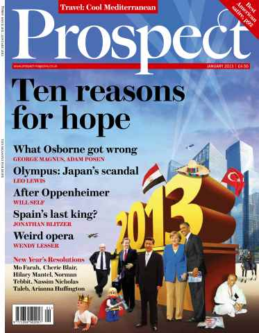 Prospect Magazine issue 202. January 2013