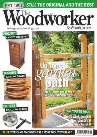 The Woodworker Magazine issue January 2013