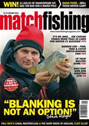 Match Fishing issue January 2013