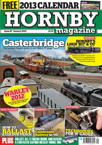 Hornby Magazine issue January 2013