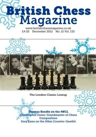 British Chess Magazine issue December 2012