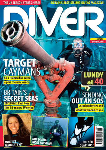 DIVER issue May 2011