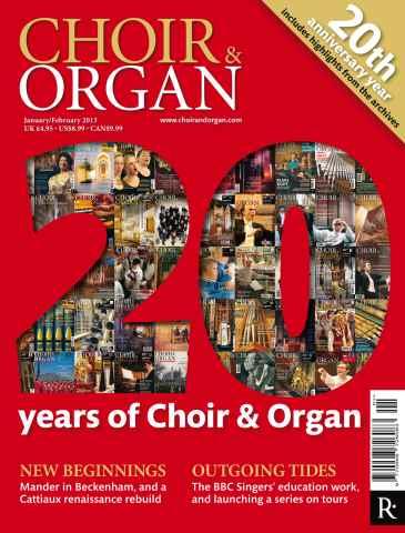Choir & Organ issue Jan-Feb 2013