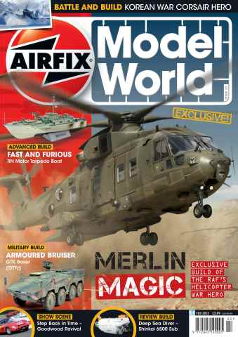 Airfix Model World issue February 2013