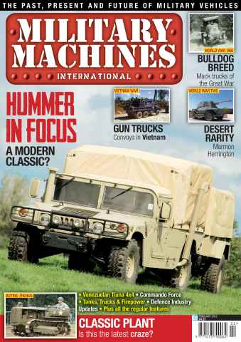 Military Machines International issue February 2013