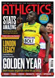 Athletics Weekly issue AW December 20 2012