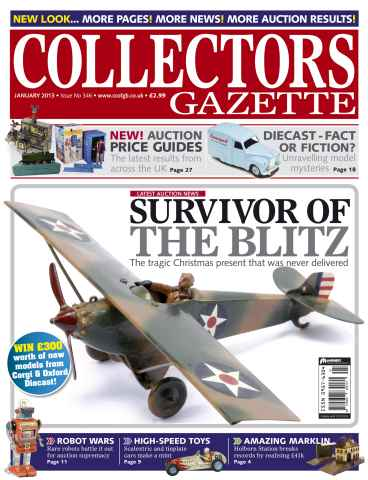 Collectors Gazette issue January 2013