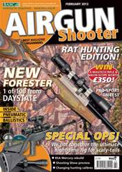 Airgun Shooter issue February 2013