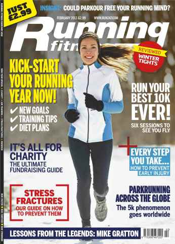 Running Fitness issue Your Best 10k February 2013
