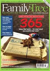 Family Tree issue FamilyTree January 2013