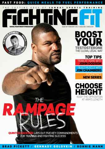 Fighting Fit issue February 2013