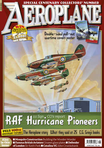 Aeroplane issue No.458 RAF Hurrican Pioneers