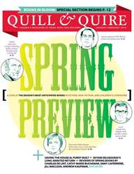 Quill & Quire issue Jan-Feb 2013