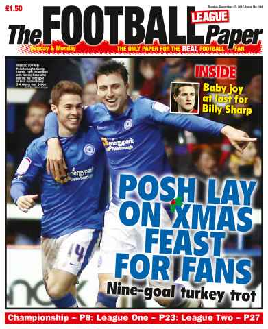 The Football League Paper issue 23rd December 2012