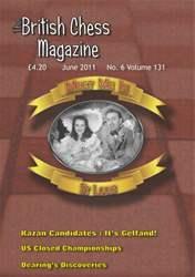 British Chess Magazine issue June 2011