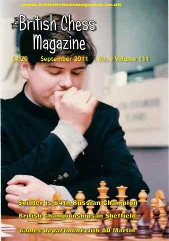 British Chess Magazine issue September 2011