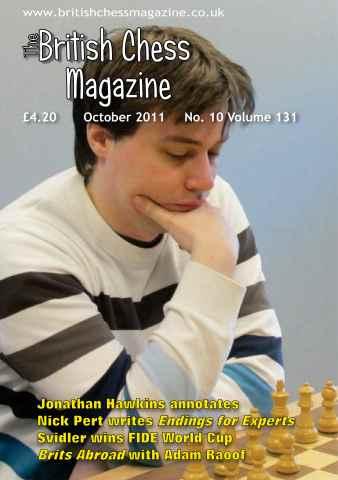 British Chess Magazine issue October 2011