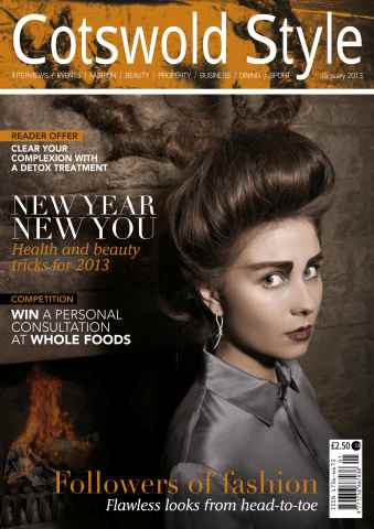 Cotswold Style issue Cotswold Style January 2013