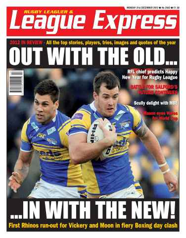 League Express issue 2843