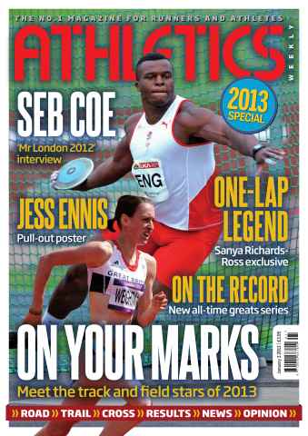 Athletics Weekly issue AW January 3 2013